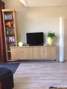 Houten tv meubel 1