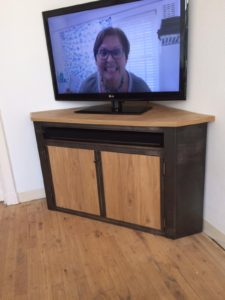 Houten tv meubel 10