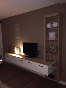 Houten tv meubel 13
