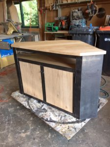 Houten tv meubel 5