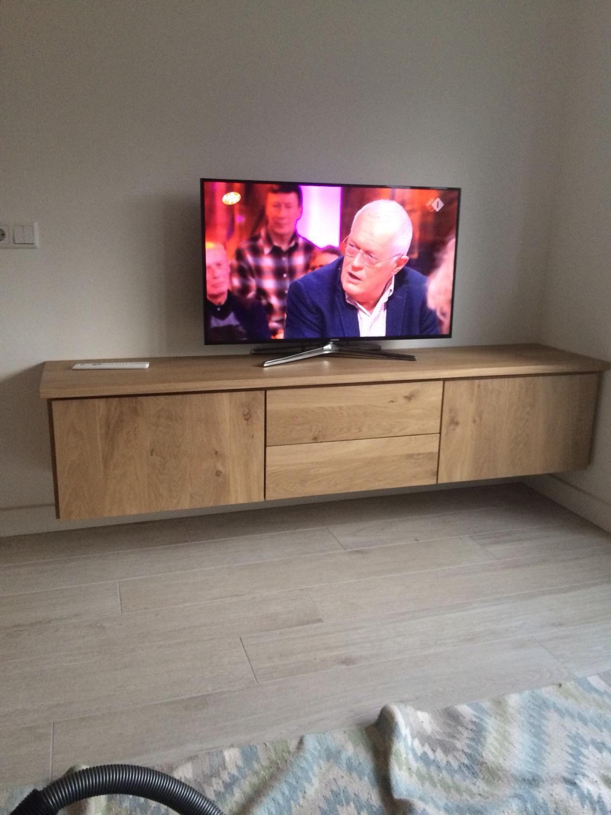 Houten tv meubel 6