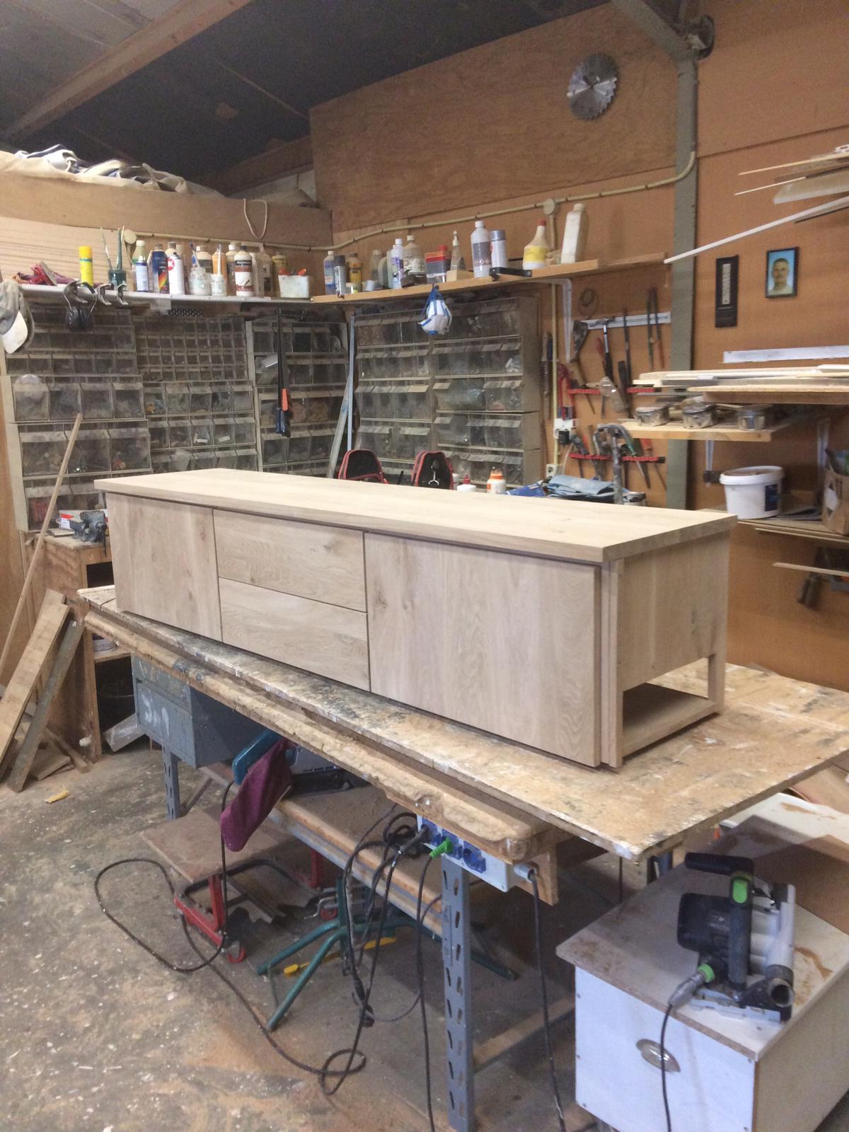 Houten tv meubel 7