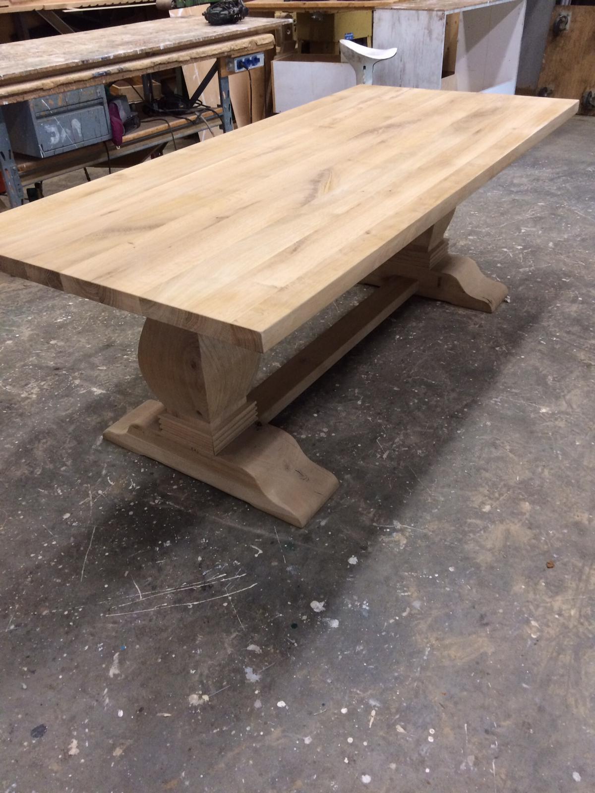 Houten tafel 4